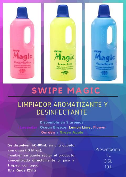 DISTRIBUIDORA SWIPE -limpiador aromatizante