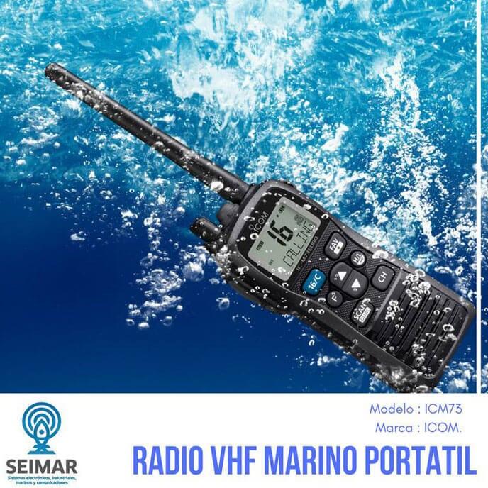 SEIMAR SISTEMAS ELECTRONICOS INDUSTRIALES MARINOS Y COMUNICACIONES - RADIO-MARINO-PORTATIL