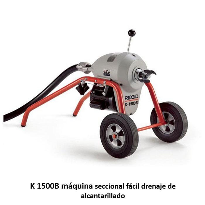 SERVICLEAN - MAQUINA K-1500B DENAJE DE ALCANTARILLADO