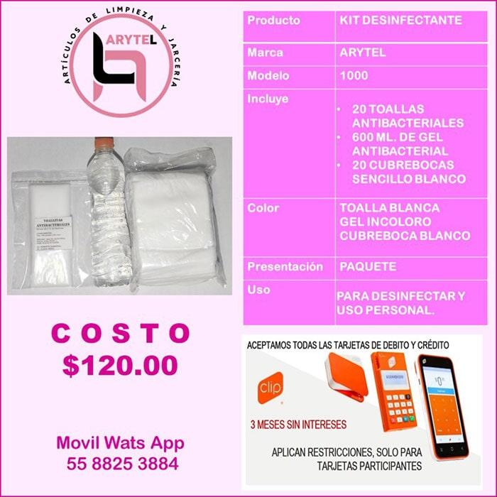 PROLIMPIEZA - Kit Desinfectante