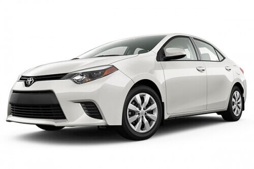 ROMING RENT A CAR - TOYOTA COROLLA 2020
