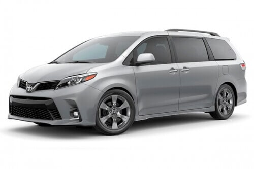 ROMING RENT A CAR - TOYOTA SIENNA 2019 CAP 8 PERSONAS