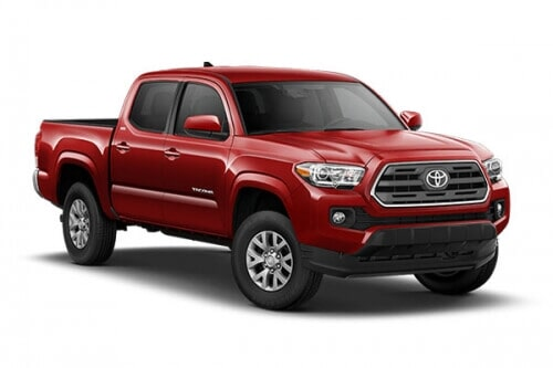ROMING RENT A CAR - TOYOTA TACOMA 2019