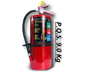 DISIC DESPACHO INTEGRAL DE SEGURIDAD INDUSTRIAL Y COMERCIAL - PQS 9 KG