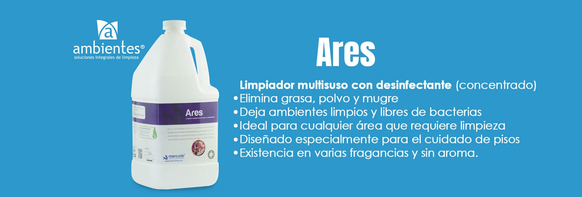 AMBIENTES - ARES