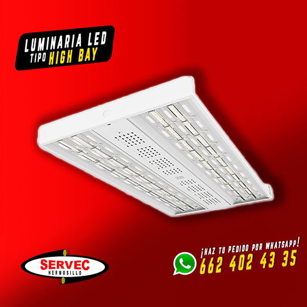 ELECTRICA SERVEC - Luminaria LED tipo High Bay