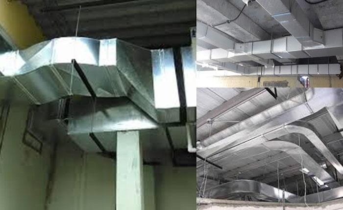 INDUSTRIAS ACOSTA - Instalación de ductos para aire
