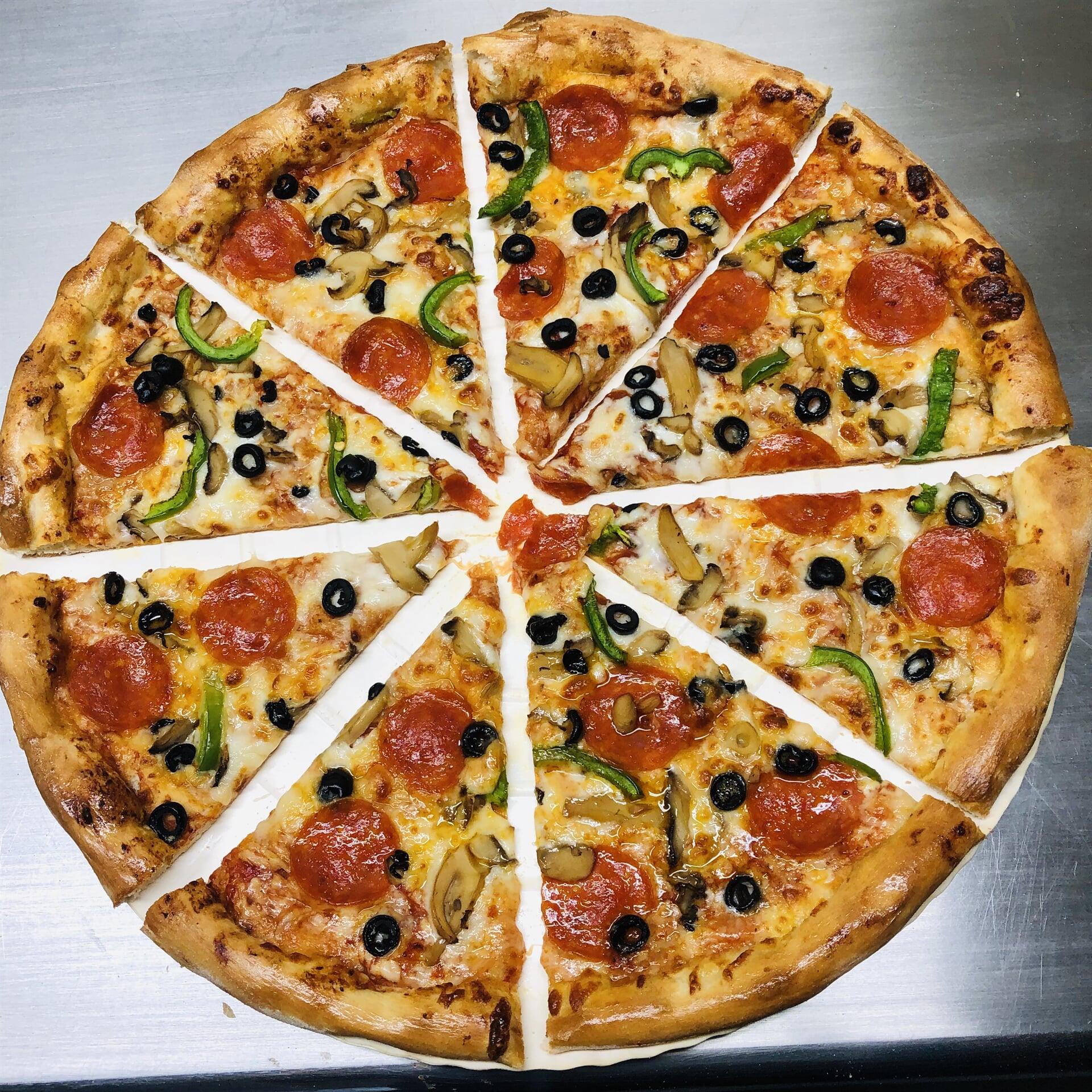 SIOS PIZZA – PIZZA DE PEPEPRONI