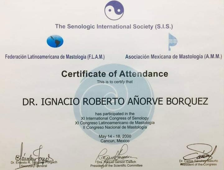 DR IGNACIO ROBERTO AÑORVE BORQUEZ -THE-SENOLOGIC-INTERNATIONAL