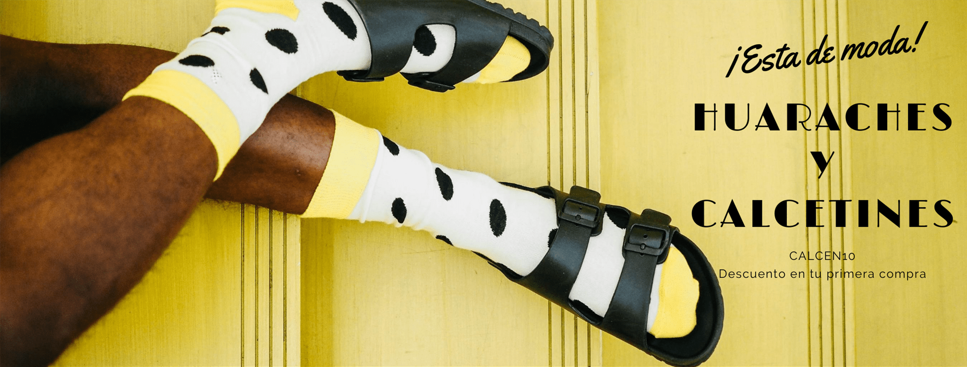CALCENTICO OUTLET SOCKS – Huaraches y calcetines