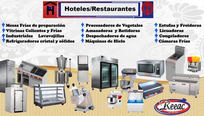 REFACCIONES DE REFRIGERACIÓN REEAC DE MORELIA - HOTELES -RESTAURANTES
