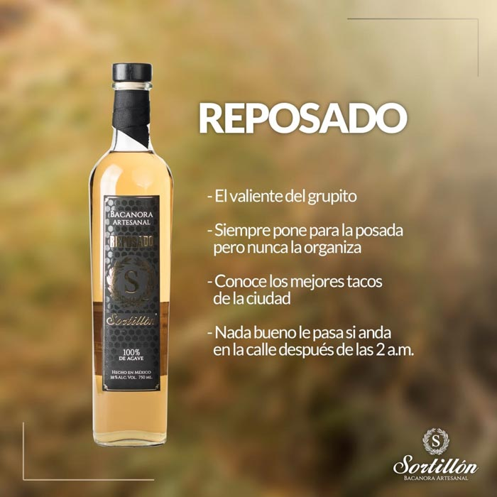 SORTILLÓN - Reposado