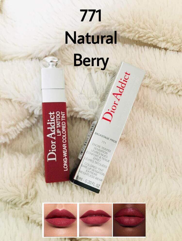 VALENTINA-DIOR ADDICT 771 NATURAL BERRY