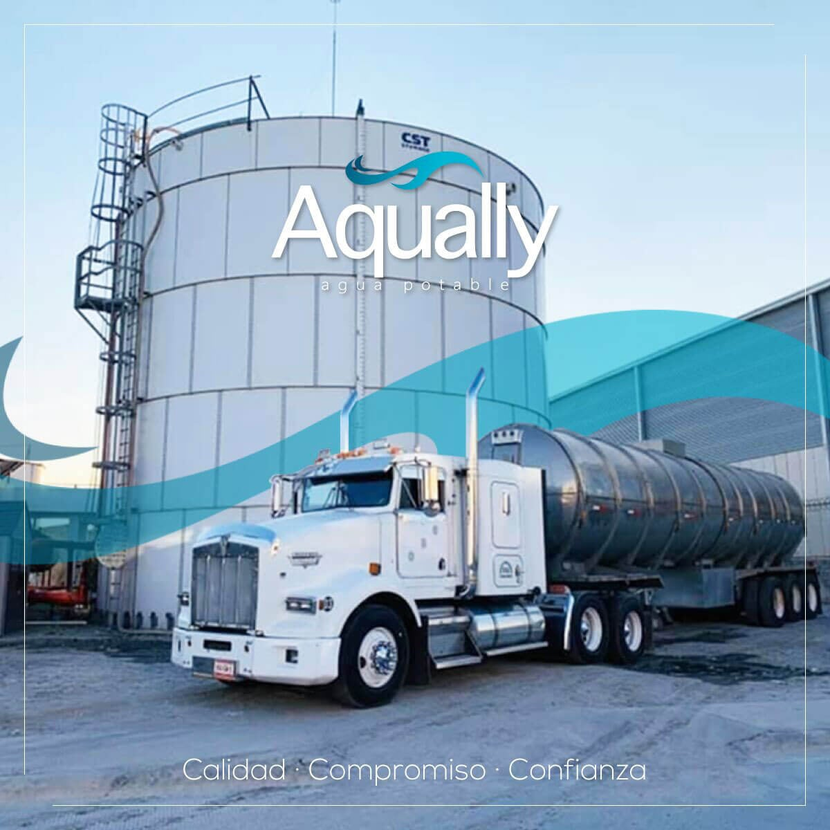 AQUALLY - Agua potable