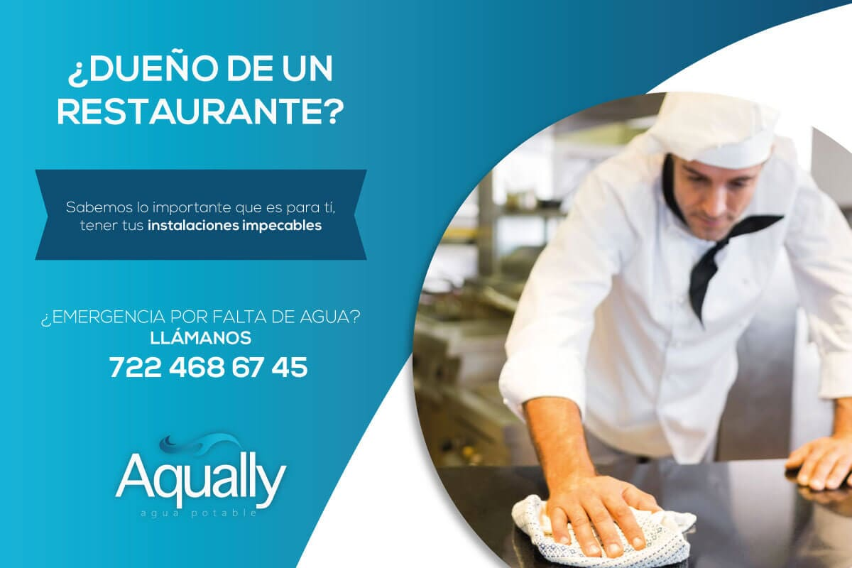 AQUALLY - Pipas de agua potable para restaurantes