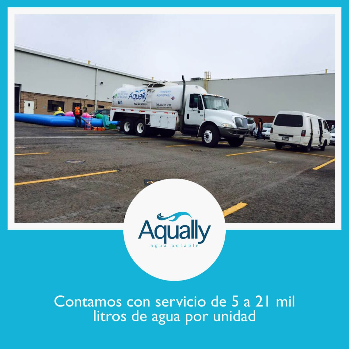 AQUALLY - Pipas de agua potable