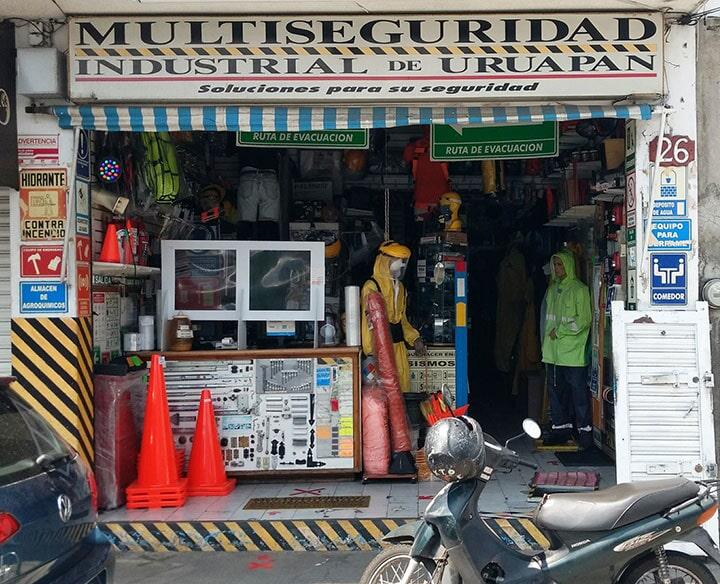 MULTISEGURIDAD INDUSTRIAL DE URUAPAN - EQUIPOS DE SEGURIDAD