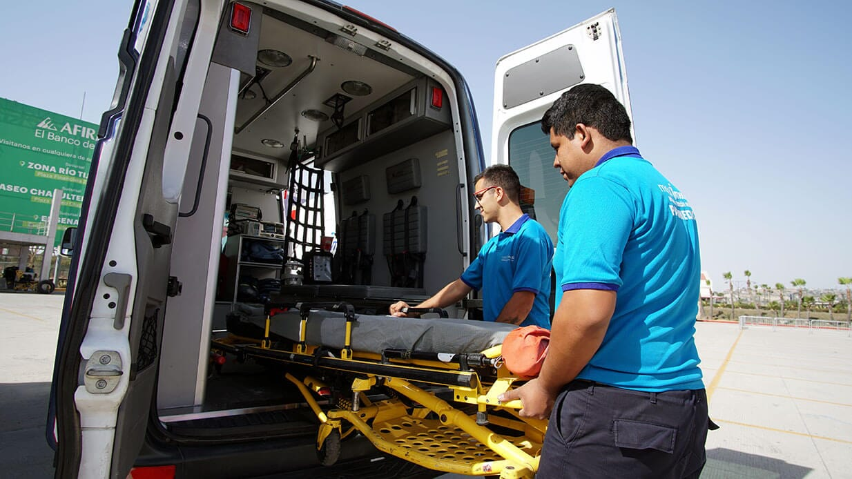 AMBULANCIAS MOBIL MEDIC - Transporte de pacientes