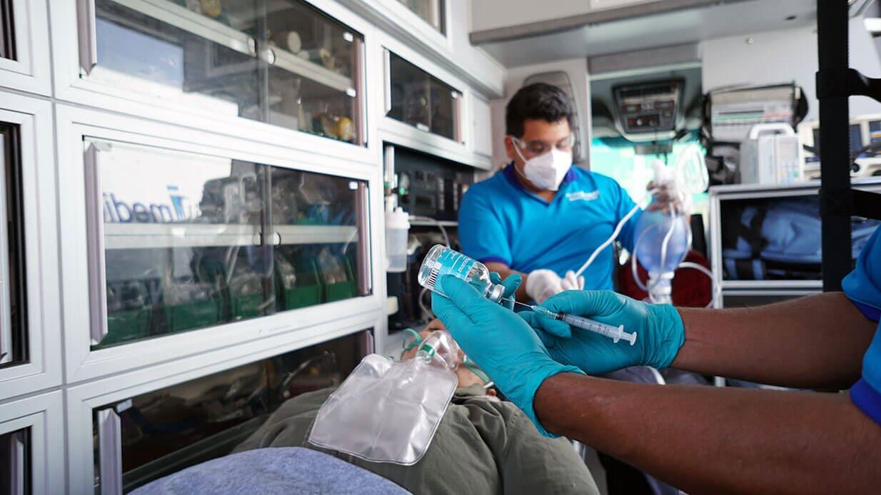 AMBULANCIAS MOBIL MEDIC - Traslado a hospitales