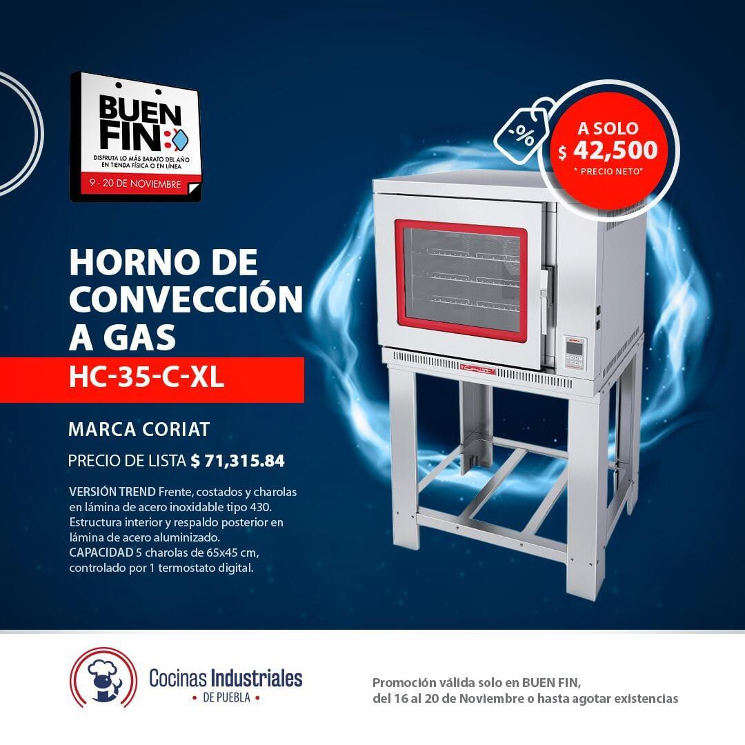 COCINAS INDUSTRIALES - Horno de convección a gas