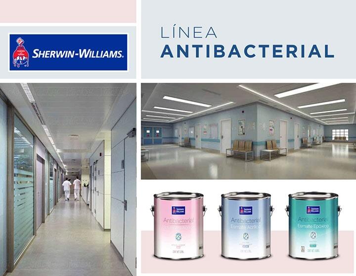 ERMITA SHERWIN WILLIAMS - Línea antibacterial