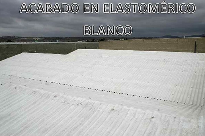 SOLFOAM AND COATINGS - ELASTOMÉRICO EN BLANCO