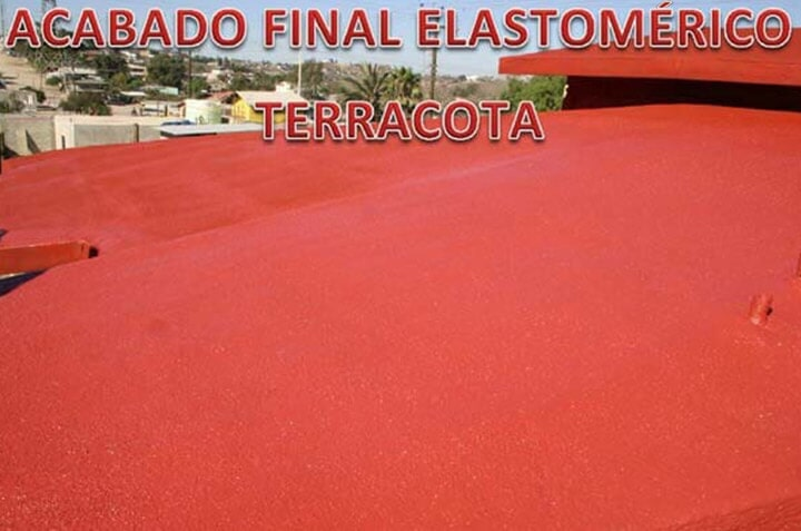 SOLFOAM AND COATINGS - ACABADO FINAL ELASTOMÉRICO TERRACOTA
