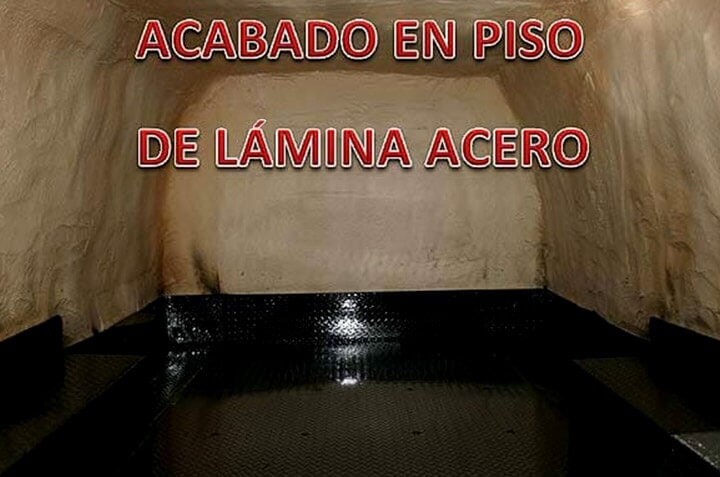 SOLFOAM AND COATINGS - LÁMINA ACERO EN PISO