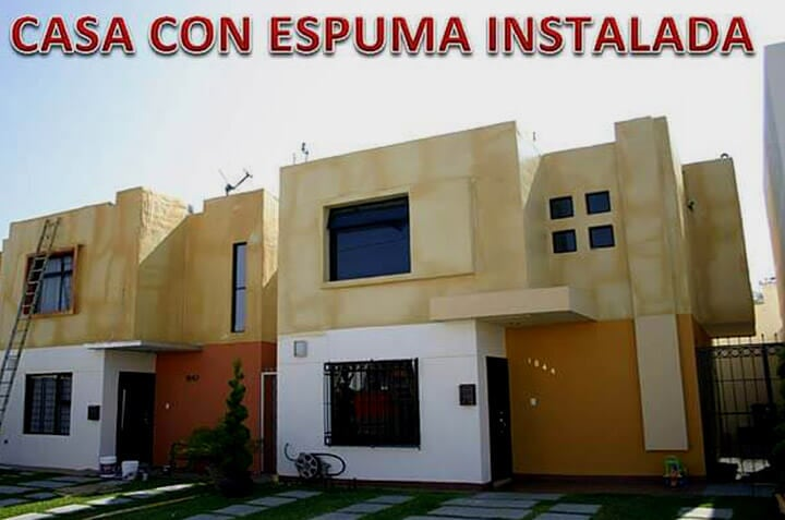 SOLFOAM AND COATINGS - CASA ESPUMA INSTALADA