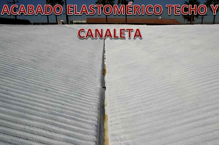 SOLFOAM AND COATINGS - ELASTOMÉRICO TECHO Y CANALETA