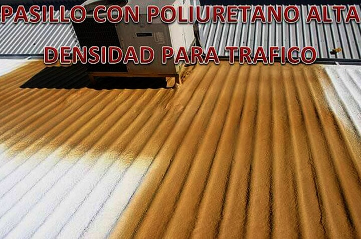 SOLFOAM AND COATINGS - PASILLO CON POLIURETANO
