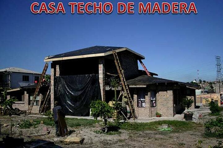 SOLFOAM AND COATINGS - CASA TECHO DE MADERA