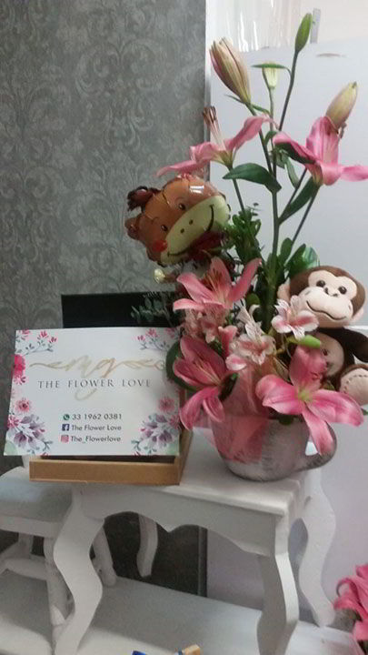 THE FLOWER LOVE - Arreglos para eventos