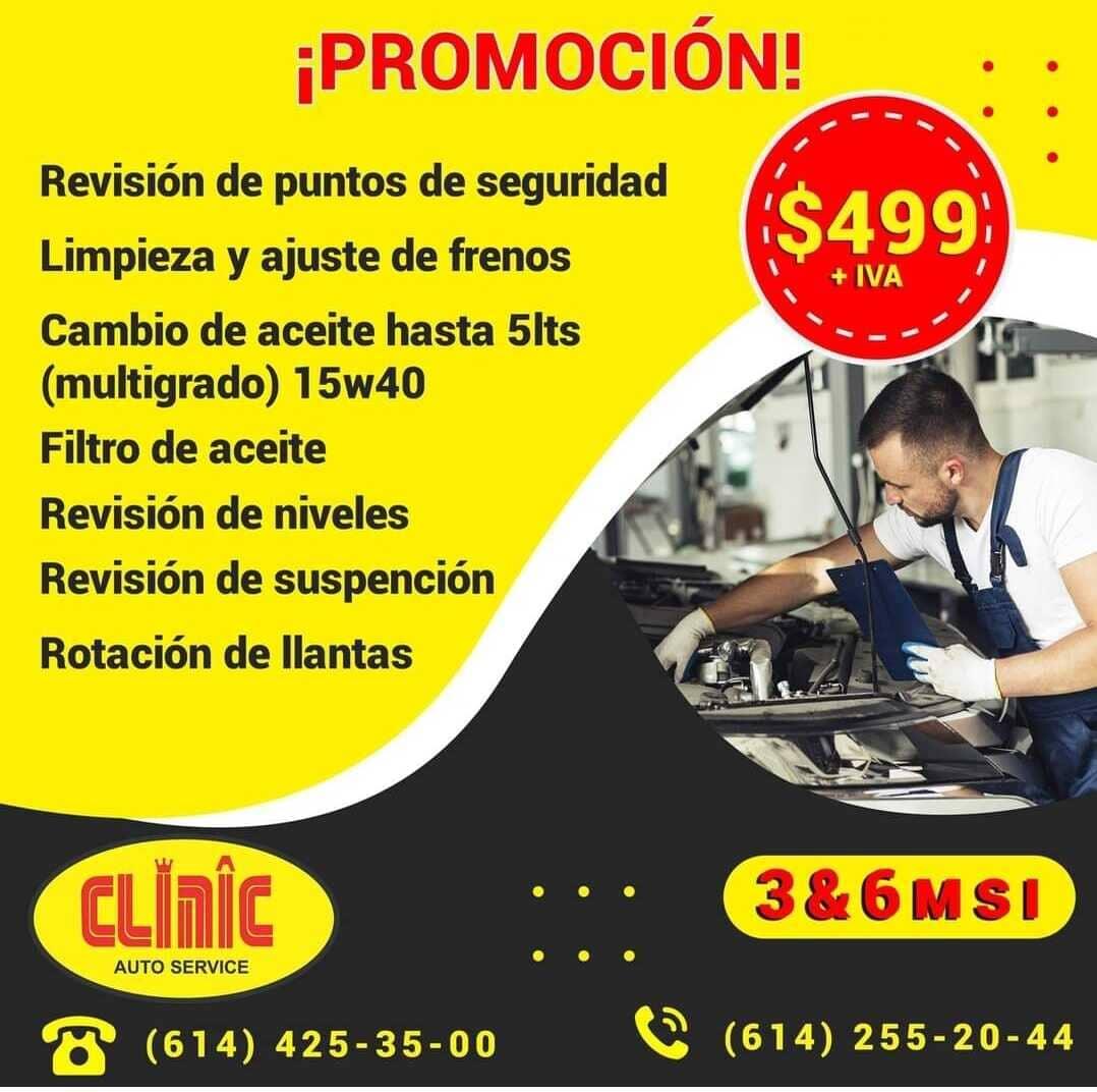 CLINIC-MAITRE AUTOSERVICE CUU - Promoción multigrado