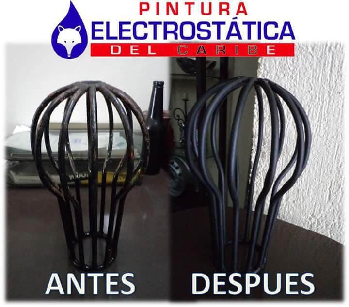 PINTURA ELECTROSTÁTICA DEL CARIBE - pintura electrostática