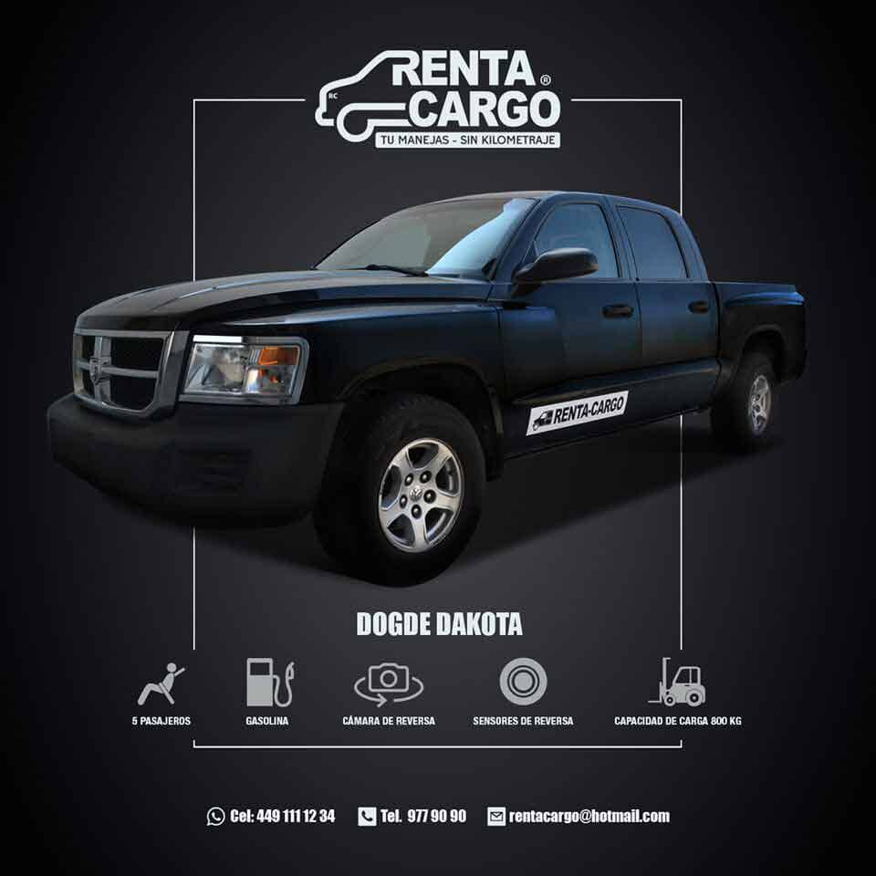 RENTA CARGO -  Dodge-Dakota