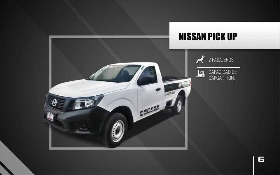 RENTA CARGO -  Nissan-Pick-Up