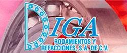 DIGA RODAMIENTOS Y REFACCIONES SA DE CV