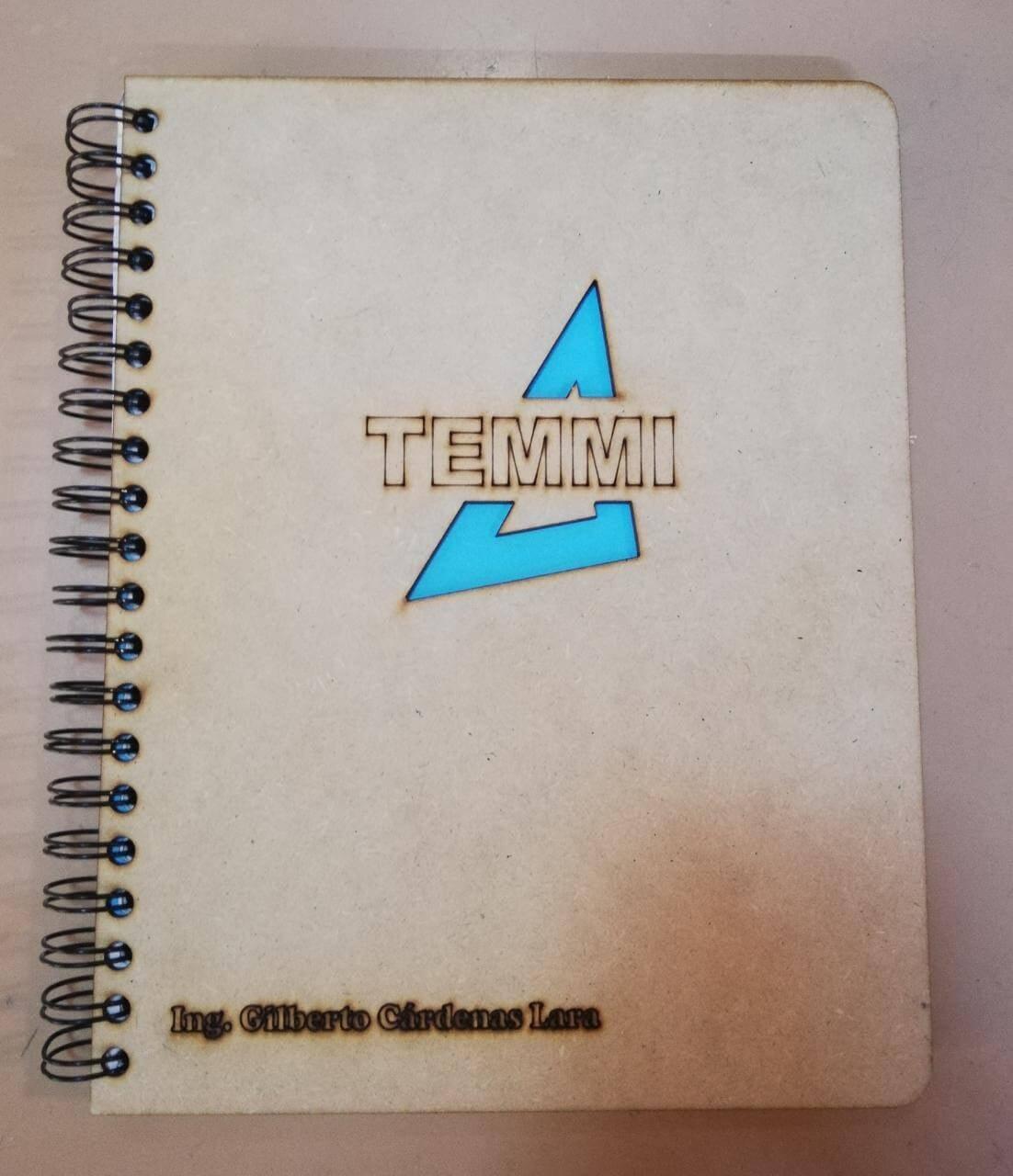 TEMMI – Cuaderno tematico a MDF