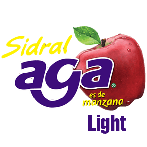 EMBOTELLADORA AGA - sidral aga light