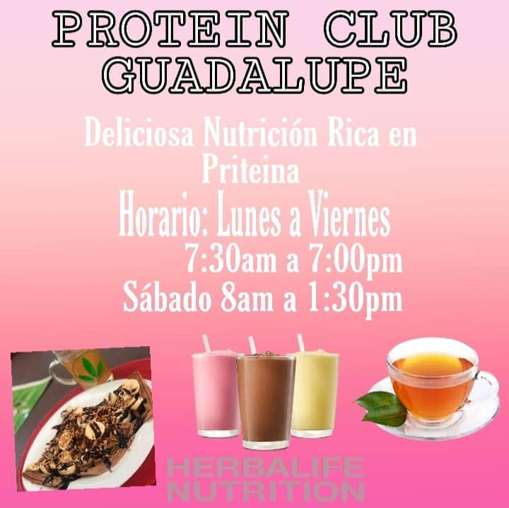 PROTEIN CLUB GUADALUPE - Protein club
