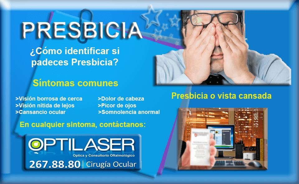 OPTILASER - PRESBICIA