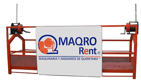 MAQRO RENT - HAMACA METÁLICA CABLE 50 100 mts