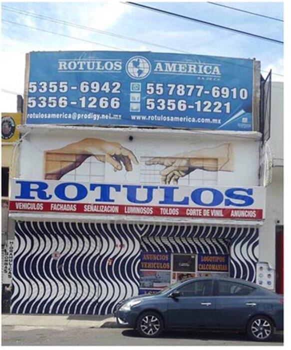 RÓTULOS AMÉRICA - rotulos america foto 3