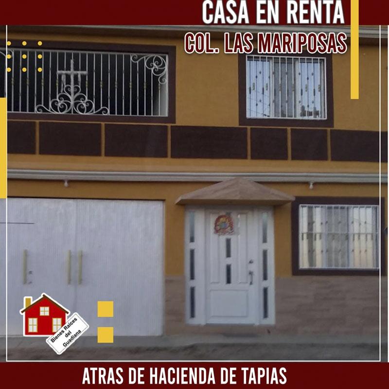 BIENES RAICES DEL GUADIANA- casa en renta