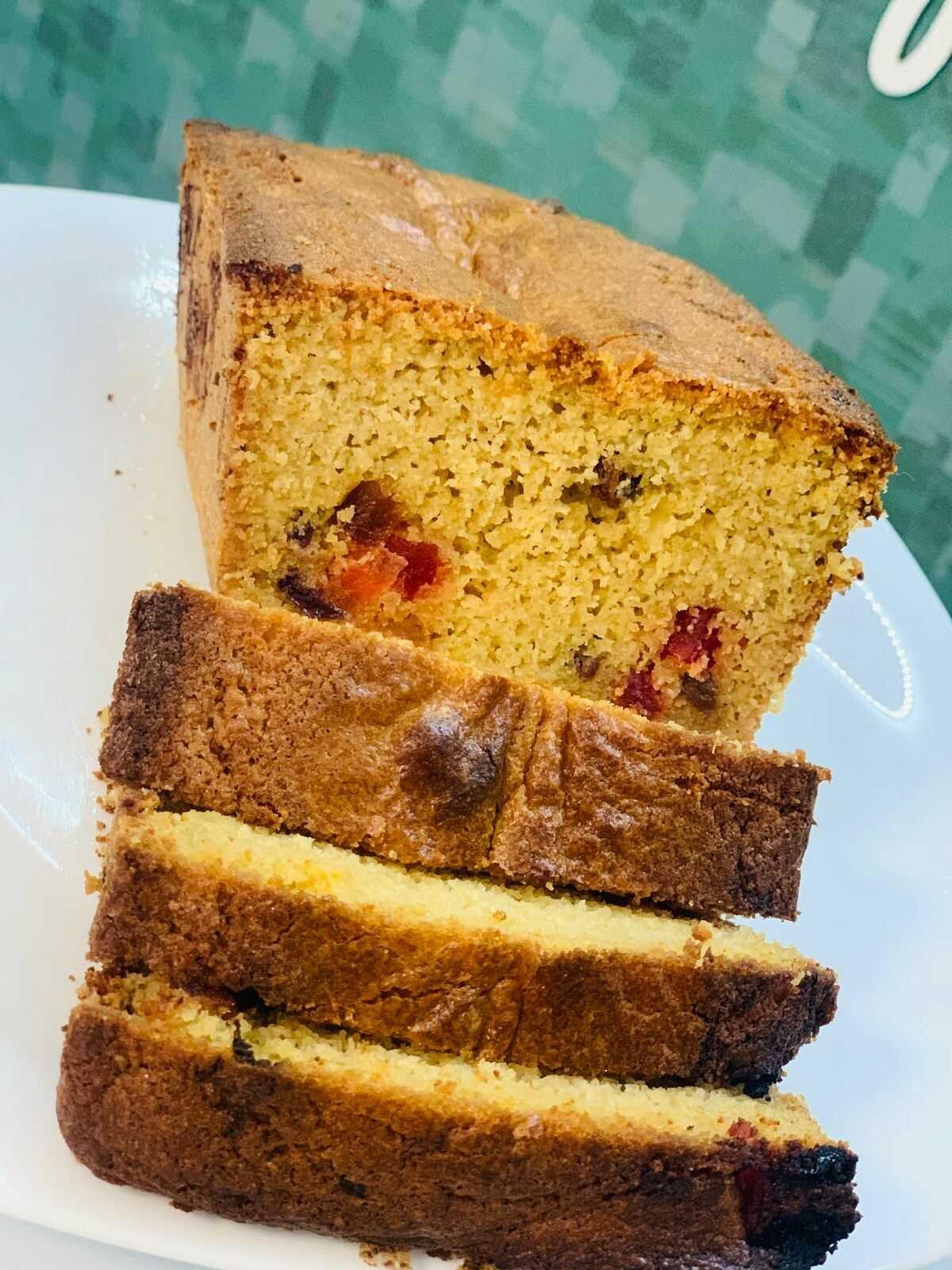 TASTE FIT BY DIANA FARFAN - panque de vainilla con frutos secos