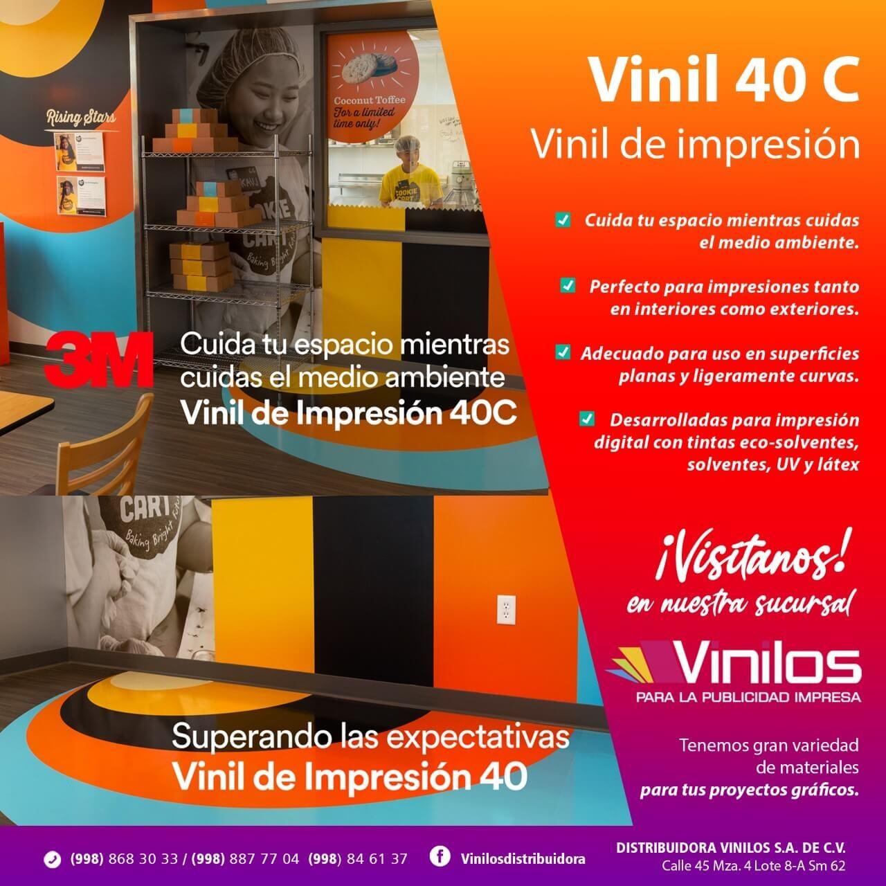 VINILOS - Vinil 40 C