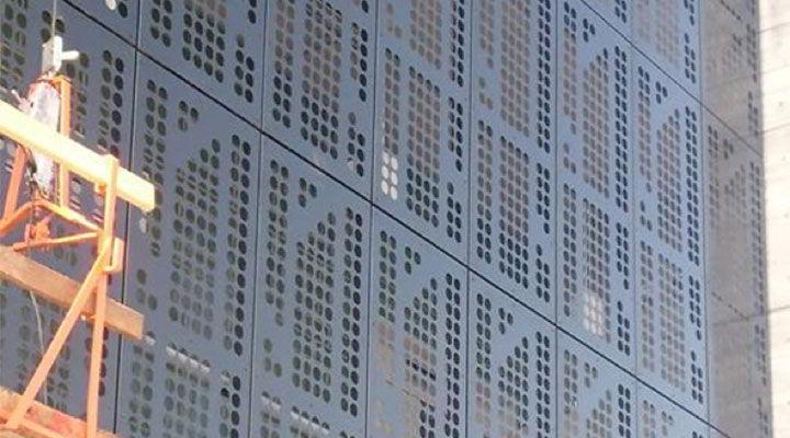 LÁMINAS PERFORADAS - Fachadas de metal perforado