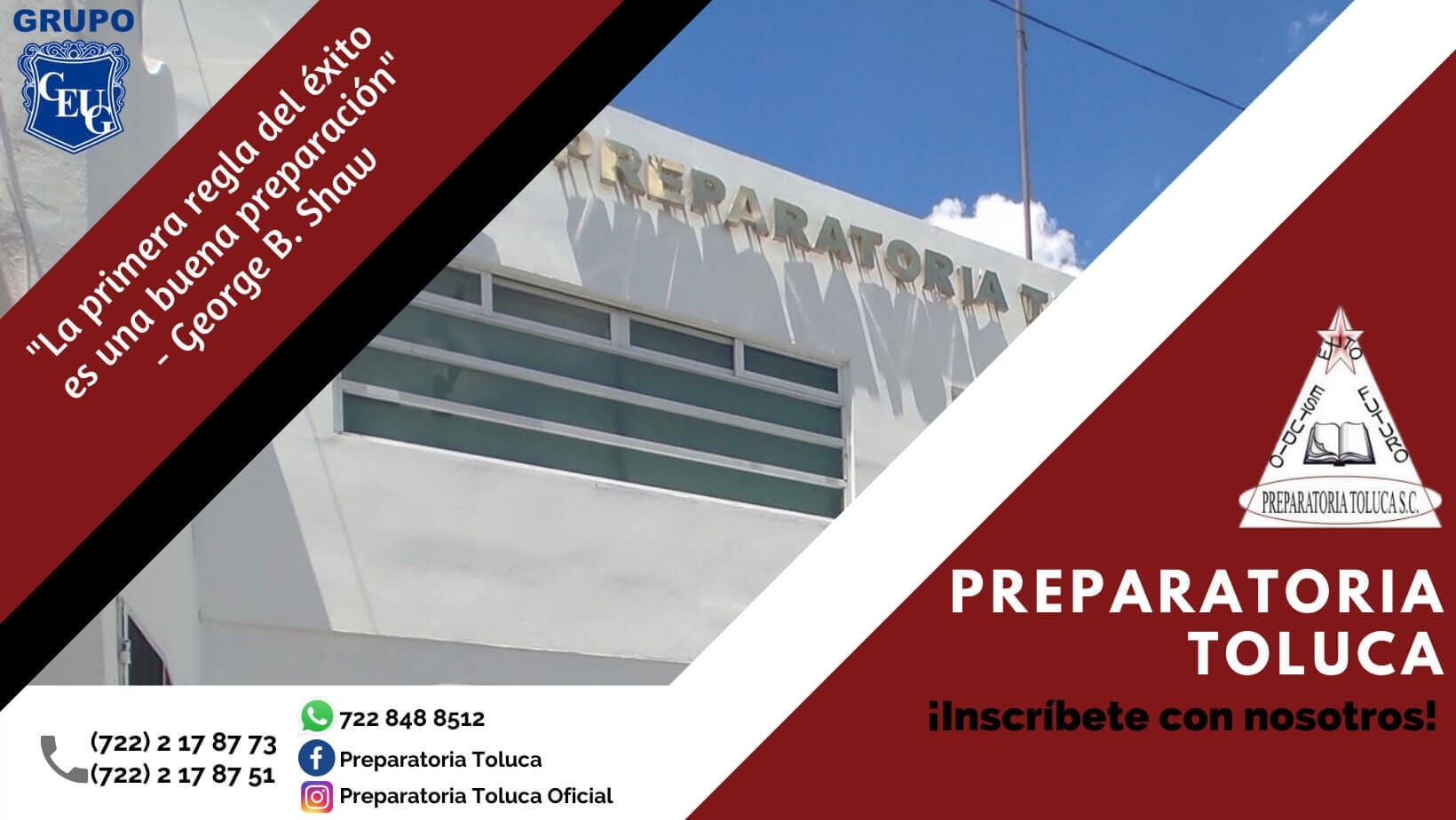 PREPARATORIA TOLUCA SC - INSCRIBETE-CON-NOSOTROS