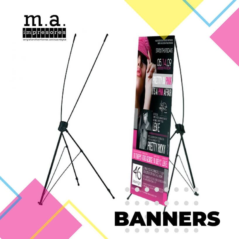 M.A. IMPRESORES - BANNERS